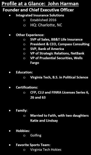 Executive Profile: John Harman – McHenry Consulting